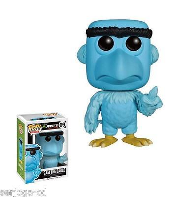 Disney POP! Muppets Most Wanted SAM THE EAGLE 10cm Vinyl Figur OVP Funko
