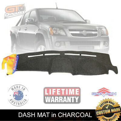 DASH MAT HOLDEN RC COLORADO / RODEO RC-LX-LT-R 2003 to JUN/2012 CHARCOAL DM903