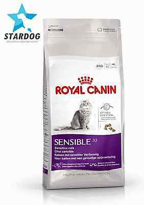 Royal Canin Sensible 33 Gatto Sacco Da 15Kg.