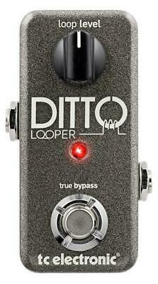 TC Electronic Ditto Looper Guitar Effects Pedal 5 minutes of Looping True bypass