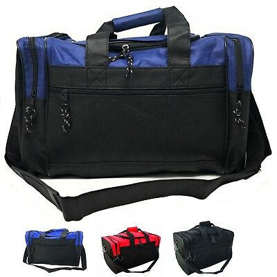 """Duffle Bag Duffel Travel Size Sports Gym Bags Workout Light Weight Luggage 17"""""""