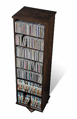 Espresso 2-Sided Spinning CD / DVD / Blu-Ray Storage Tower for Media  sc 1 st  PicClick : blu ray dvd storage tower  - Aquiesqueretaro.Com