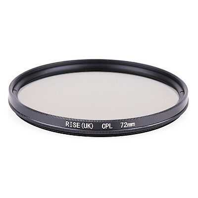 72mm CPL Polarizing Lens Filter for Canon Nikon Sony Pentax Sigma Olympus