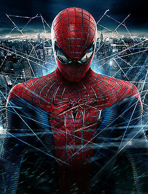 The Amazing Spider Man Hero Poster Art Print - A0 A1 A2 A3 A4 Sizes Available