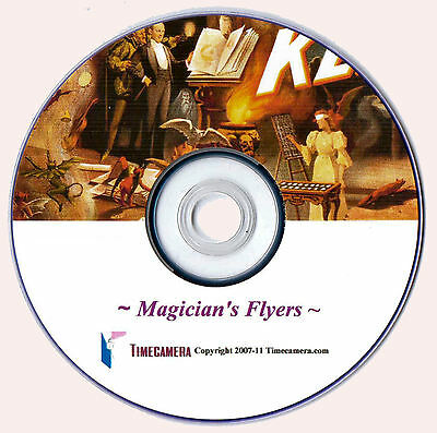 MAKE/SELL VINTAGE MAGICIAN ART PRINTS - Home Business on a DVD-Rom