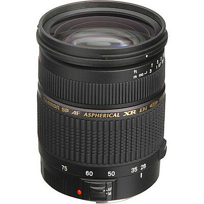 Tamron SP AF 28-75mm F/2.8 XR Di LD Aspherical IF Macro Lens CANON A09E NEW!