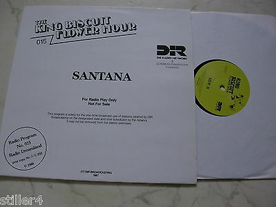 SANTANA Radio Live Concert KING BISCUIT FLOWER HOUR *LIMITED*PROMO*NM*