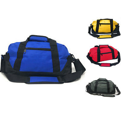 """18"""" Duffle Bags Travel Sports School Gym Carry On Luggage Shoulder Strap"""