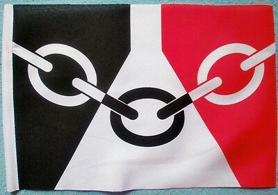 "BLACK COUNTRY BUDGET FLAG small 9""x6"" GREAT FOR CRAFTS WEST MIDLANDS"