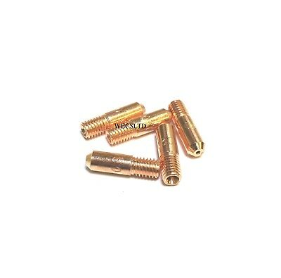 5 x Hobby Mini Mig Tips 0.6, 0.8 or 1.0 MB14, Clarke, Drapper etc Compatable