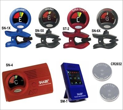 SNARK Clip-on Instrument Tuner for Guitar Bass, Brass & Violin - Choice of model