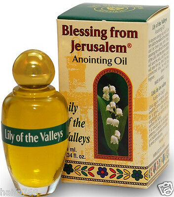 Anointing Oil Lilly of the valley 10 ml. ,Ein Gedi  Dead sea Holy Land gift