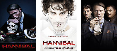 Hannibal Poster Set - A4 A3 A2 Sets Available