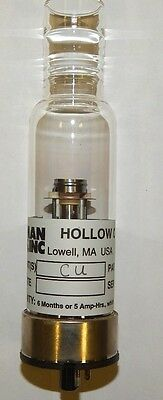 Cu (Copper)  Hollow Cathode Lamp - Leeman Lab Inc.