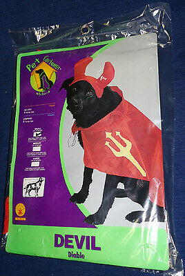 """Halloween Pet Costume DEVIL (Small - 10-12"""") New! for dog or cat"""