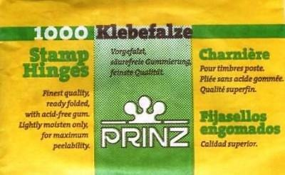 2 Packs Of 1000 Prinz Stamp Hinges