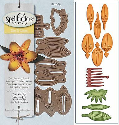 NEW UNIVERSAL FIT SPELLBINDERS CREATE A FLOWER CHERRY BLOSSOMS DIE D-LITES