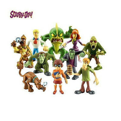 NEW Scooby Doo Mystery Mates - Solving Crew and The Monsters Mega 10 Figure Pack