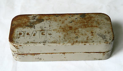 Vintage PFAFF Sewing Tin Box Sewing Attachments Storage Tin ACCESSORY BOX