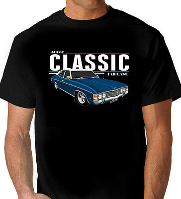 Ford  Zg   Fairlane  500    Black   Tshirt   Men's  Ladeis  Kid's  Sizes
