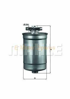 MAHLE ORIGINAL Fuel filter Audi A4, A6 KL554D