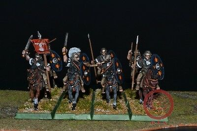 28mm Ancient WAB DPS Painted Imperial Roman Cavalry WP5238