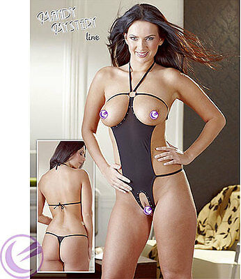 SEXY Body Crotchless Passionale Cottelli Collection Taglia unica S-L