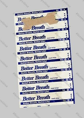 200 NASAL STRIPS (LARGE) Breathe Better & Reduce Snoring Right Now