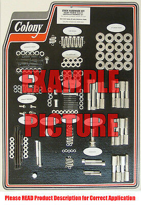 Colony Machine #8309 PARK Complete Stock Hardware Kit 1937-1973 45 with Alum
