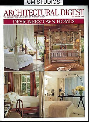 Architectural Digest Designers' Own Homes 09 September 2004 04