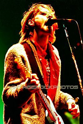 Kurt Cobain Nirvana Photo 8x12 or 8x10 inch Live 80's Concert Pro Print   10