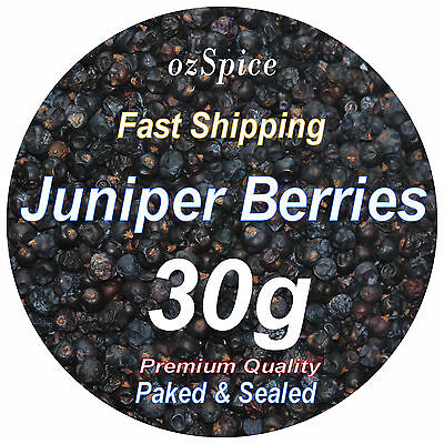Juniper Berries 30g - Herbs Teas Chillies & Spices - ozSpice