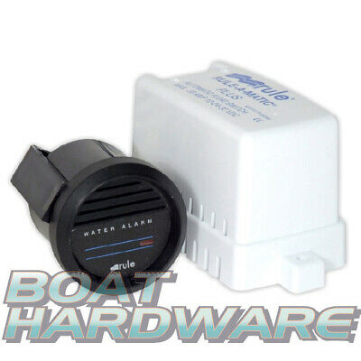 GENUINE Rule Brand High Water12V BILGE Alarm Kit In Dash Guage Warning Safety