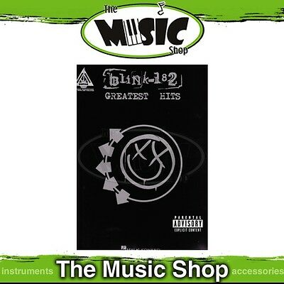 New Blink 182 Greatest Hits Music Book - Guitar Recorded Version