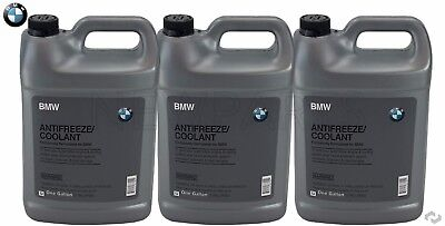 3-Gallons Genuine BMW Blue Color Antifreeze / Coolant 82141467704