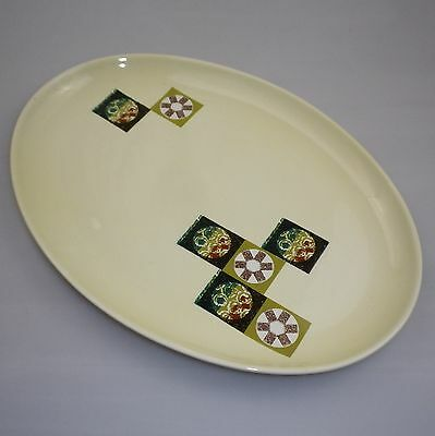 Large Carltonware Tapestry  Pattern Oval Serving Plate