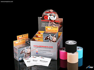 Synthetic Ares Extreme Tape Kinesiology Elastic Sports Tape - Support KT