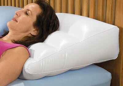 Inflatable Bed Wedge / Pillow with Cover