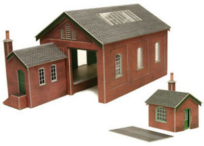 Metcalfe Goods Shed OO Gauge Card Kit PO232