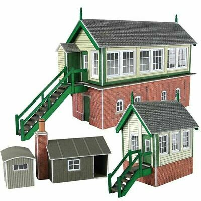 Metcalfe Signal Box Set N Gauge Card Kit PN133