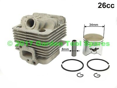 New Universal Cylinder & Piston Kit 26Cc Cg260 Fit Various Strimmer Brush Cutter