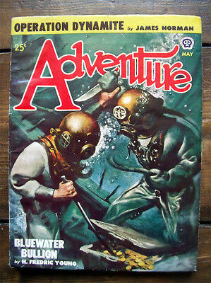 Pulp Dime Adventure Magazine May 1948 Vol.119 No.1 James Norman H. Fredric Young