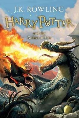 Harry Potter and the Goblet of Fire by J.K. Rowling Paperback Book Free Shipping
