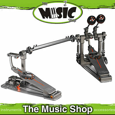 New Pearl P-3002D Demon Drive Twin Drum Pedal With Case - Direct Drive P3002D