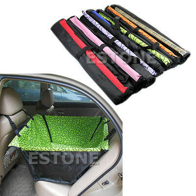 Pet Dog Car Single Seat Cover Safety Waterproof Hammock Mat Carpet New