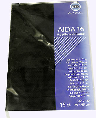 AIDA 16 Count cross stitch fabric - 39 cm x 45 cm
