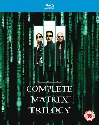 The Complete Matrix Trilogy (Blu-Ray) Keanu Reeves, Laurence Fishburne