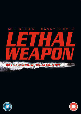 Lethal Weapon : The Complete Collection (4 Disc Box Set) [1987] [2005] (DVD)