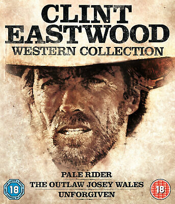 Clint Eastwood Westerns Collection (3 Discs) [Region Free] (Blu-ray)