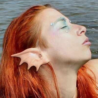 Mermaid Ear Latex Prosthetics for fancydress, LRP, LARP